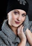 Retrato de la mujer joven imagenes de archivo