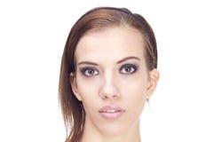 Retrato de la mujer joven Fotografía de archivo