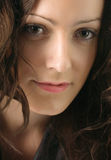 Retrato de la mujer joven Imagen de archivo libre de regalías