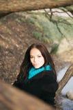 Retrato de la mujer joven foto de archivo