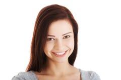 Retrato de la mujer joven casual. Fotografía de archivo libre de regalías
