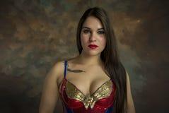 Retrato de la mujer joven hermosa Imágenes de archivo libres de regalías