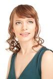 Retrato de la mujer magnífica hermosa Fotografía de archivo libre de regalías