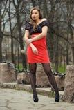 Retrato de la mujer rusa Imagen de archivo libre de regalías