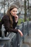 Retrato de la mujer rusa Fotos de archivo libres de regalías