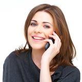 Retrato de la mujer sonriente feliz Fotografía de archivo libre de regalías
