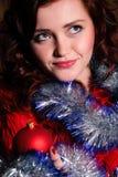 Retrato de la Navidad Imagen de archivo libre de regalías