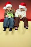 Retrato de la Navidad Foto de archivo libre de regalías
