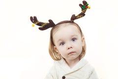 Retrato de la Navidad Fotos de archivo