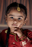 Retrato de la niña Imagen de archivo