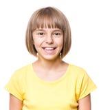 Retrato de la niña Fotos de archivo libres de regalías
