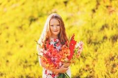 Retrato de la niña Fotografía de archivo