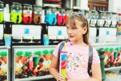 Retrato de la niña adorable Fotos de archivo