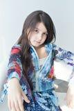 Retrato de la niña agradable Fotos de archivo libres de regalías