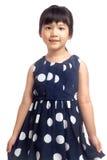Retrato de la niña aislado fotografía de archivo libre de regalías