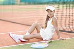 Retrato de la niña al aire libre Fotografía de archivo