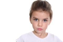 Retrato de la niña bonita Imagen de archivo