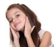 Retrato de la niña bonita Foto de archivo libre de regalías
