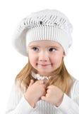 Retrato de la niña hermosa fotografía de archivo libre de regalías