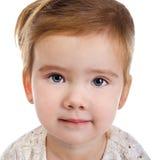 Retrato de la niña linda fotos de archivo