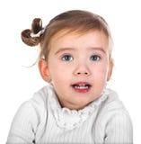 Retrato de la niña linda imagen de archivo