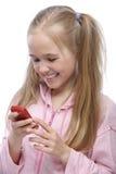 Retrato de la niña que mira Imagen de archivo libre de regalías