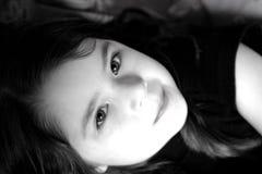 Retrato de la Niño-Muchacha imagenes de archivo