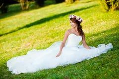Retrato de la novia Fotos de archivo libres de regalías