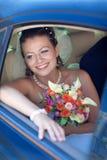 Retrato de la novia foto de archivo
