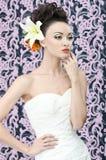Retrato de la novia Imagen de archivo libre de regalías