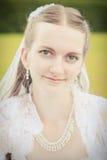Retrato de la novia bonita Foto de archivo libre de regalías