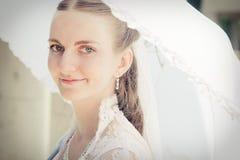 Retrato de la novia bonita Imágenes de archivo libres de regalías