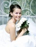 Retrato de la novia hermosa fotografía de archivo libre de regalías