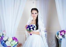 Retrato de la novia hermosa Fotos de archivo