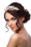 Retrato de la novia hermosa joven Imagen de archivo