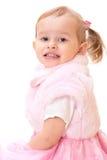 Retrato de la pequeña muchacha adorable Fotografía de archivo libre de regalías