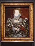 Retrato de la reina Elizabeth I fotografía de archivo libre de regalías