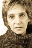 Retrato de la señora Imagen de archivo libre de regalías