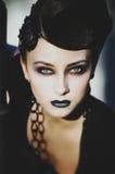 Retrato de la señora hermosa Fotos de archivo