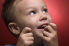 Retrato de la sonrisa Foto de archivo libre de regalías
