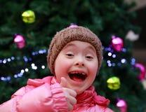 Retrato de la sonrisa de la muchacha Foto de archivo
