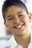 Retrato de la sonrisa del muchacho Imagenes de archivo