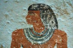 Retrato de la tumba de Sarenput II Imágenes de archivo libres de regalías