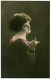 Retrato de la vendimia. Imagen de archivo libre de regalías