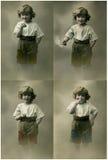 Retrato de la vendimia. Fotos de archivo libres de regalías