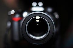 Retrato de las cámaras digitales Imagen de archivo
