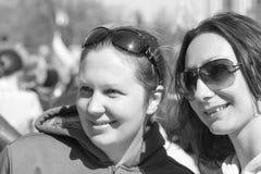 Retrato de las muchachas hermosas (rusas) Fotos de archivo