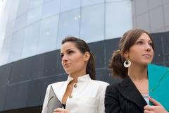 Retrato de las mujeres de negocios Foto de archivo libre de regalías
