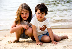 Retrato de las niñas Foto de archivo libre de regalías
