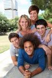 Retrato de las personas del estudiante Imagen de archivo
